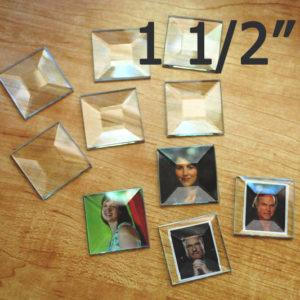 1-1/2 inch bevel Squares
