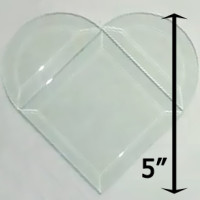 Project Kit: 5″ Beveled Heart