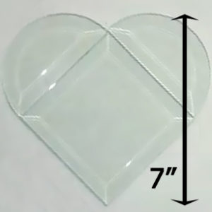 "Project Kit: 7"" Beveled Heart"
