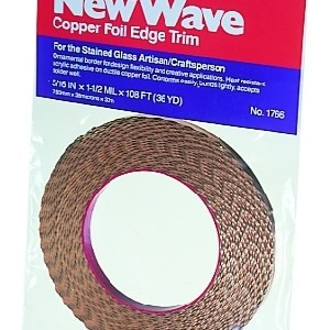 WAVY / SCALLOPED Edge Copper Foil Tape - 36 yards - Venture Tape