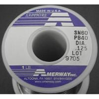 1 Pound (16 oz) Roll Amerway 60/40 Solder ((LOW COST))