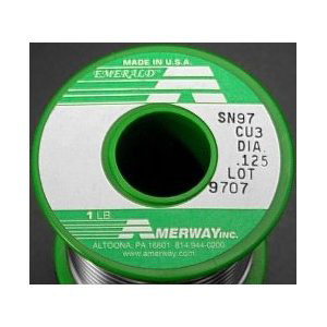 1 Pound (16 oz) Roll Amerway Solder (LEAD FREE) ((LOW COST))