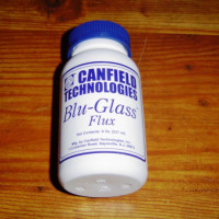 Liquid Flux 8 oz. Canfield Blu Glass