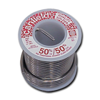1 Pound (16 oz) Roll Canfield 50/50 Solder