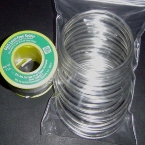 1/4 Lbs. (4 oz) Roll Canfield DGS Solder (LEAD FREE)