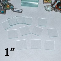 "1"" Square Clear Flat Glass (1 inch)"