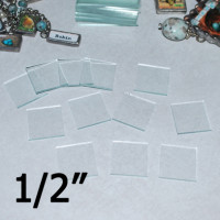 "1/2"" Square Clear Flat Glass (.5 inch)"