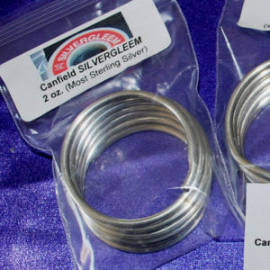 1/8 Lbs. (2 oz) Roll Silvergleem Solder (LEAD FREE)