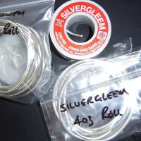 1/4 Lbs. (4 oz) Roll Silvergleem Solder (LEAD FREE)