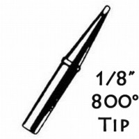 "Weller 800 degree tip WP100 1/8"" tip"