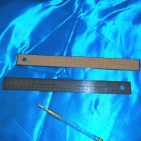 12 inch (30 cm) Stainless Steel Ruler - No Slip Cork Backing for Straight Edge Scoring