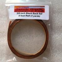 "3/8"" Copper Foil Tape BLACK BACK - 3 yards - Venture Tape"