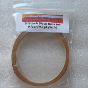 "5/16"" Copper Foil Tape BLACK BACK - 3 yards - Venture Tape"