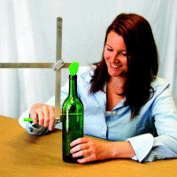 Be Green & RECYCLE Glass (G2) TOOL Generation 2 Bottle Cutter/ Jar + Instructions