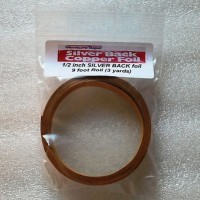 "1/2"" Copper Foil Tape SILVER BACK - 3 yards - Venture Tape"