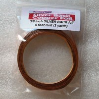 "3/8"" Copper Foil Tape SILVER BACK - 3 yards - Venture Tape"