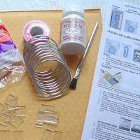 Bare Minimum Kit for Solder Jewelry Art with Choice 100 Watt Iron