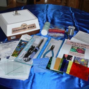beginner kit glastar with glass- glasssupplies41.com
