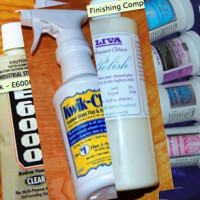 Cleaners, Polish, and Adhesives