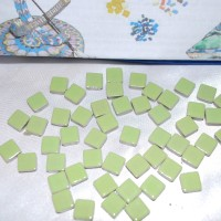 Light Green Mosaic Tiles