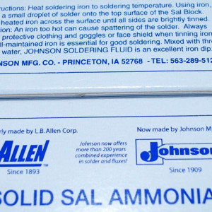 Large Block (8 oz) of Sal Ammoniac