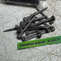 Horseshoe Nails - Farriers Hold Lead Project Together -25, 50, or 100 Packs