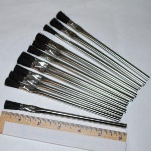 Flux Brushes for Solder Flux or Acid Patina