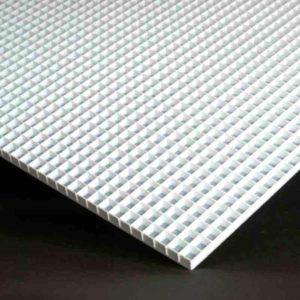 "Morton Mini Surface PLUS - Gridded Glass Cutting Surface - 2 Panels interlock to make 22.5"" x 15.75"" Cutting Surface"
