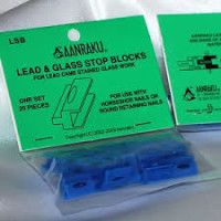 Aanraku - Lead & Glass Stop Blocks - 25 Pack