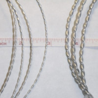Thin vs. Thick Twisted Wire