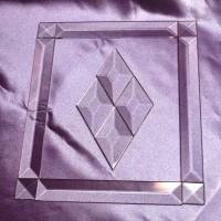 """3/4"""" Pencil Bevel Frame KIT: 7.5""""x11.5"""" - Stained glass bevel frame kit from GlassSupplies41.com"""