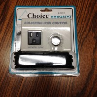 Choice - Rheostat - Soldering Iron Temperature Control Unit