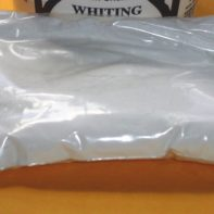 Whiting Powder - 8 oz - Stained Glass Lead Work -Whiting powder is used as a cleaning agent to help remove all forms of residue.