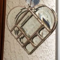 Project Kit: 5″ Multi Beveled Heart - 8 Piece - GlassSupplies41.com