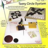 "Morton - TEENY CIRCLE SYSTEM - Glass Circle Cutter with Turn Table - Cut Glass Circles from 6"" down to 3/4""! GlassSupplies41.com"