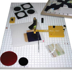 """Morton - TEENY CIRCLE SYSTEM - Glass Circle Cutter with Turn Table - Cut Glass Circles from 6"""" down to 3/4""""! GlassSupplies41.com"""