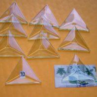 1-1/2 inch triangle bevel
