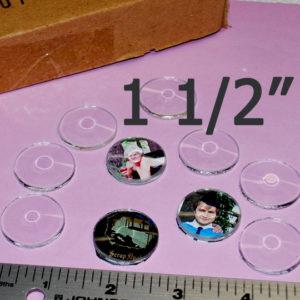 1.5 inch bevel circles