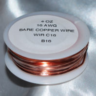 4 oz Solid Copper Wire 16 Gauge 31.5 ft roll
