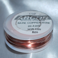 4 oz Solid Copper Wire 20 Gauge 78 ft roll