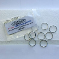 "Jump Rings - 3/8"" (.375 Inch) - GlassSupplies41.com"