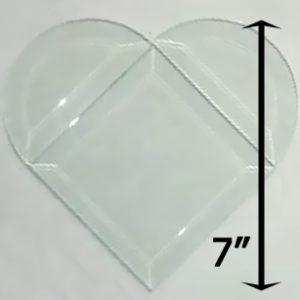 "Project Kit: 7"" Beveled Heart"