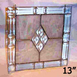 13 Inch Victorian Bevel Frame Kit