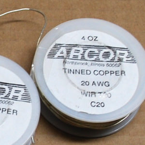 4 oz Tinned Copper Wire (silver color) 20 Gauge 79 ft roll