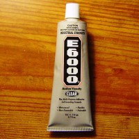 E6000 Clear ADHESIVE Jumbo tube (3.7 oz) 110 ml