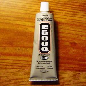 E6000 Clear ADHESIVE Jumbo tube (3.7 oz) 110 ml