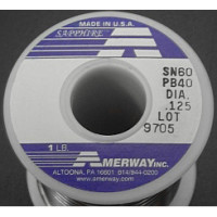 1 Pound (16 oz) Roll Amerway 60/40 Solder ((LOW COST))