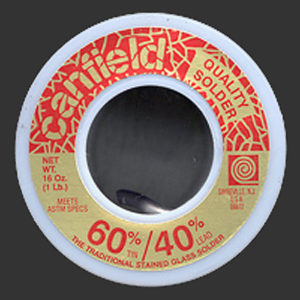 1 Pound (16 oz) Roll Canfield 60/40 Solder