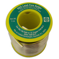 1 Pound (16 oz) Roll Canfield DGS Solder (LEAD FREE)