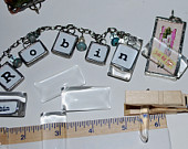 1 x 1-1/2 inch (19 x 38mm) RECTANGLE Crystal Clear Glass Cabochon (6 pack)